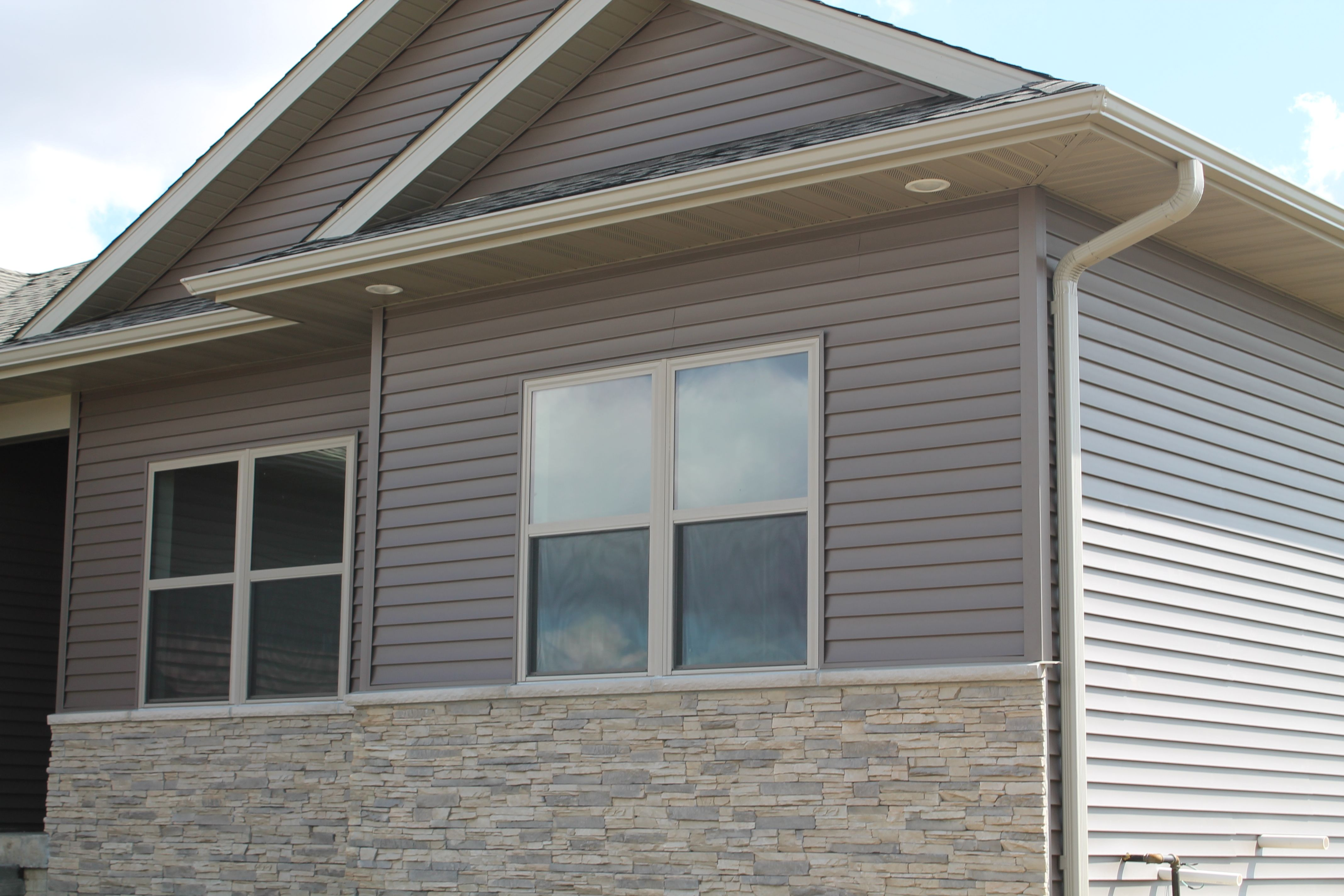 Truman certainteed siding color sable brown with for Certainteed siding