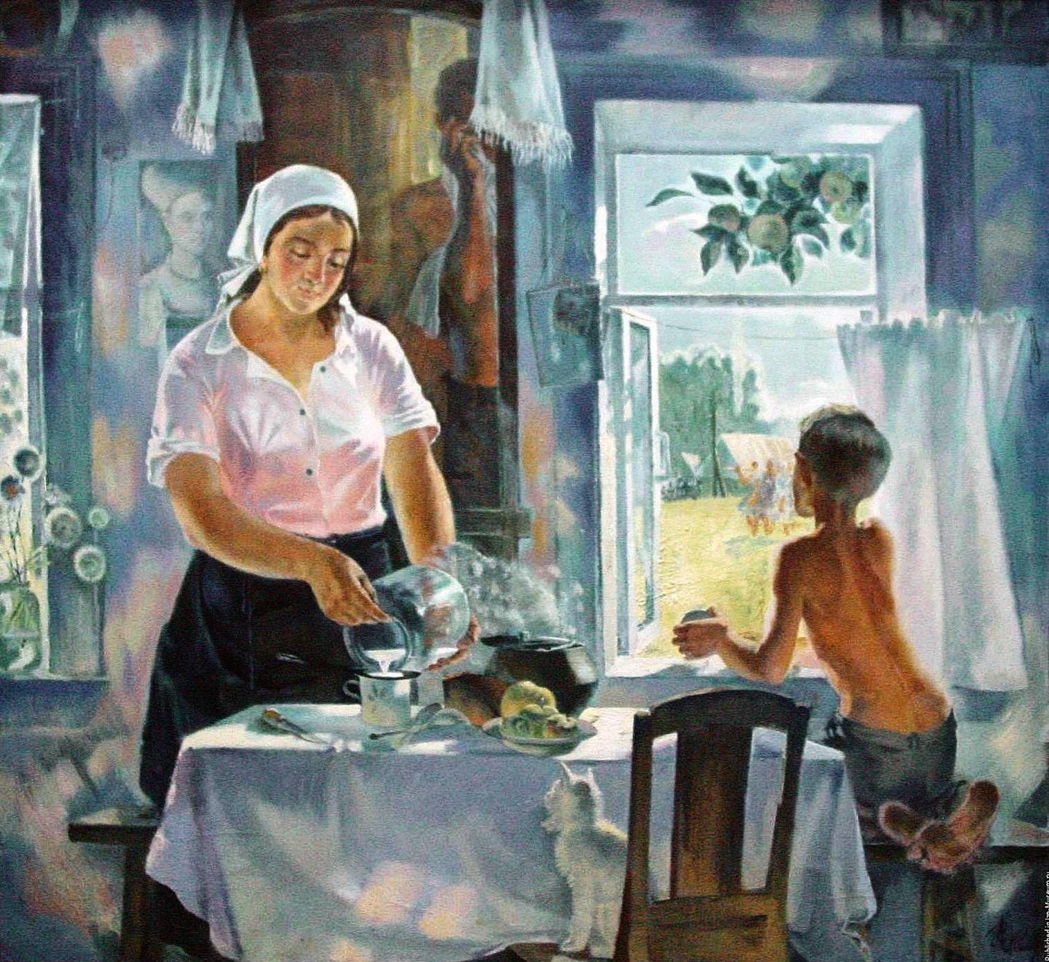 Картинки советские с добрым утром, открытки