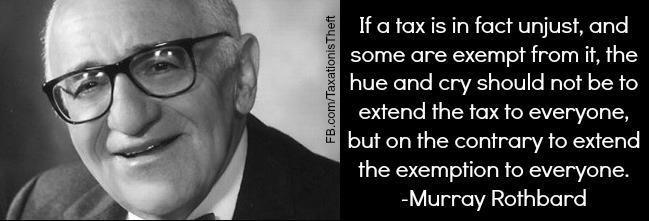 tsū #TaxationIsTheft #MurrayRothbard | Murray Rothbard | Pinterest ...