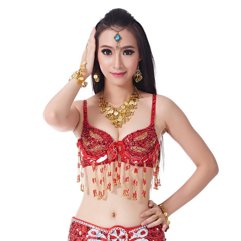 woman  dance top  embroidered belly dance   bra  coat performance #Affiliate