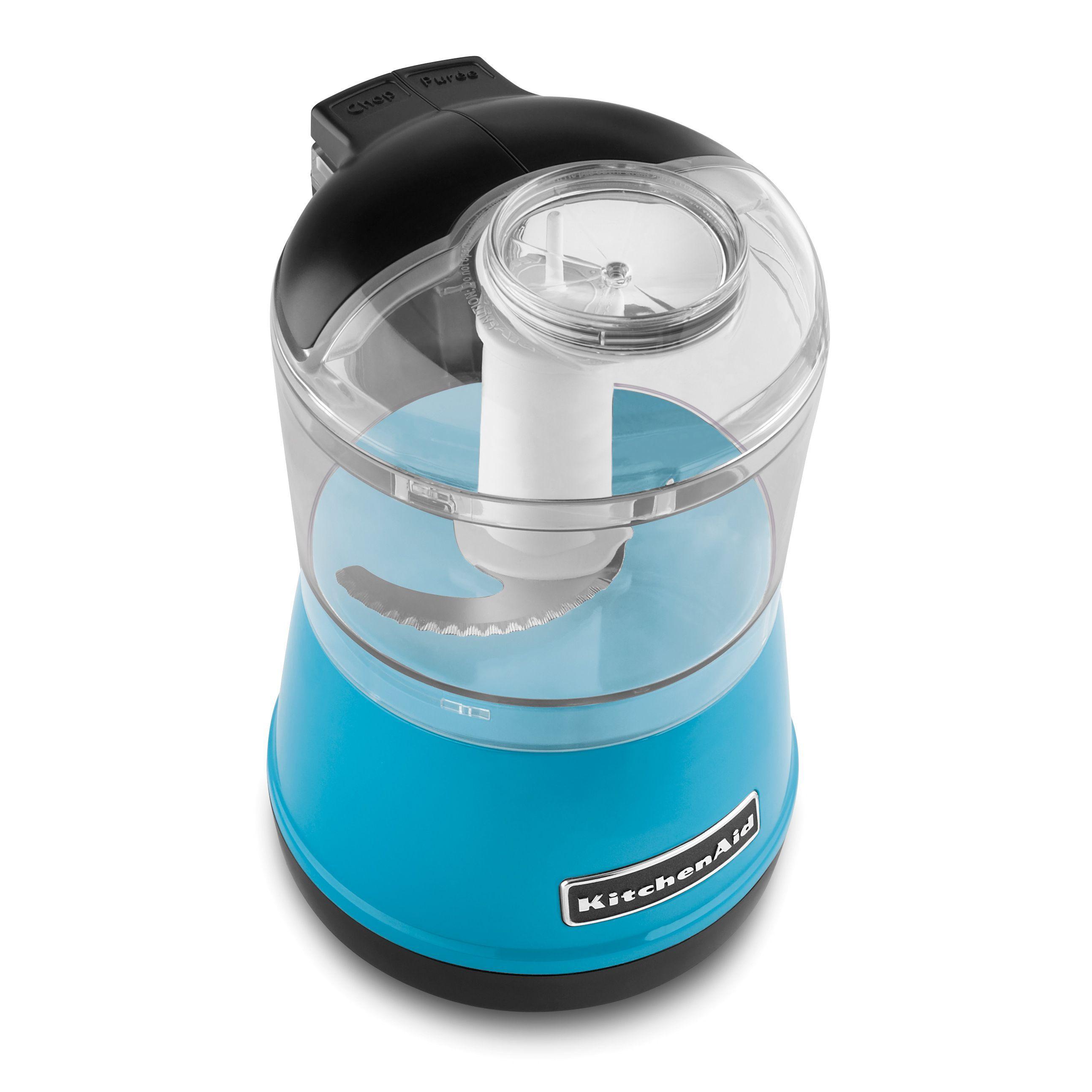 KitchenAid KFC3511CL Crystal 3.5-cup Food Chopper | Kitchen ...