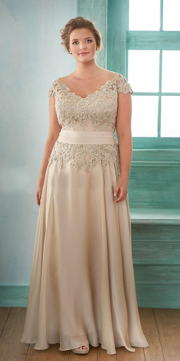 21 Stunning Plus Size Mother Of The Bride Dresses ...