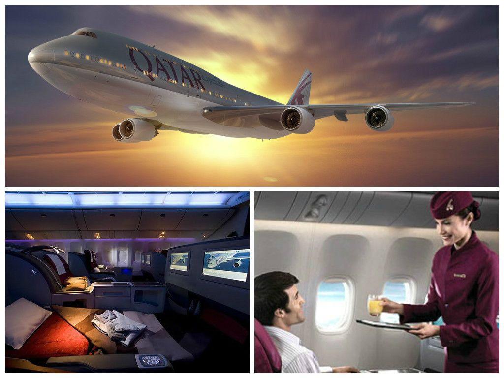 Buy business class fly first class qatar airways proudly