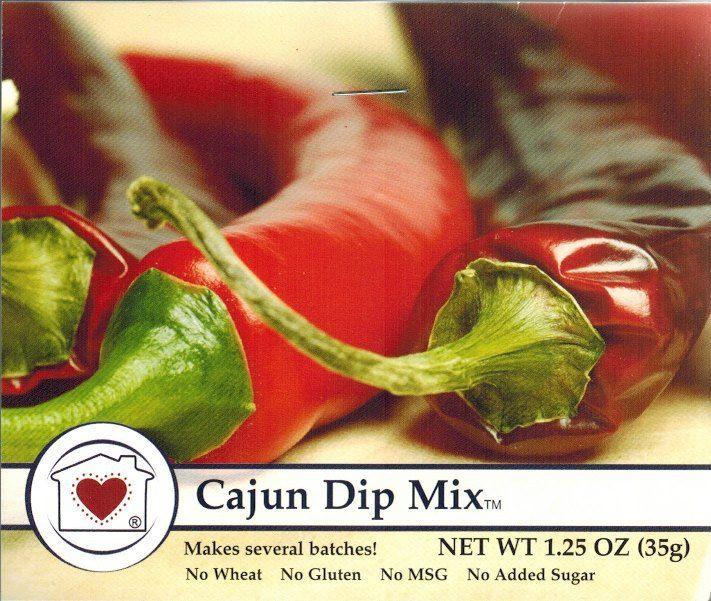 Country Home Creations Cajun Dip Mix   Treasure Journeys