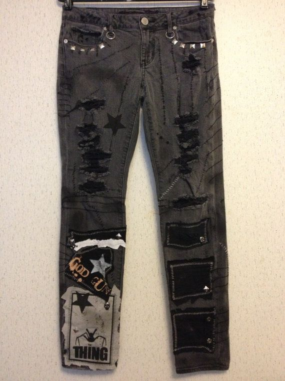 Dirty Things jeans from Chad Cherry by ChadCherryClothing on Etsy, $149.99