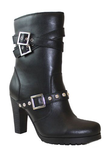 390de45fbb87 Ladies  High  Heel  Motorcycle  Boots for when you absolutely have to look  hot on the back of that bike!