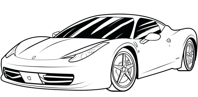 23++ Car free printable coloring pages for boys trends