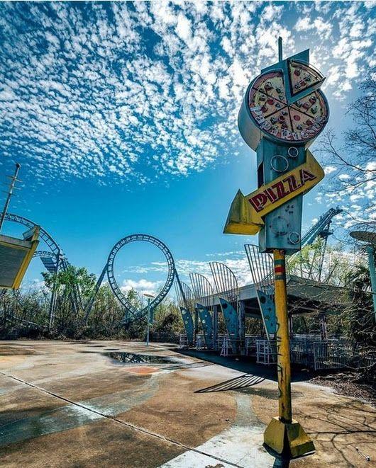Abandoned Theme Parks, Abandoned Places