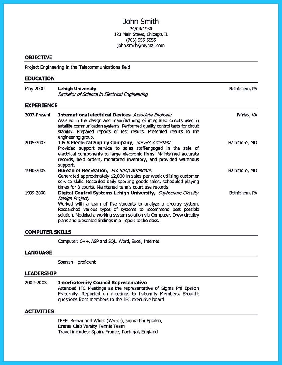 Awesome Well Written Csr Resume To Get Applied Soon Resume
