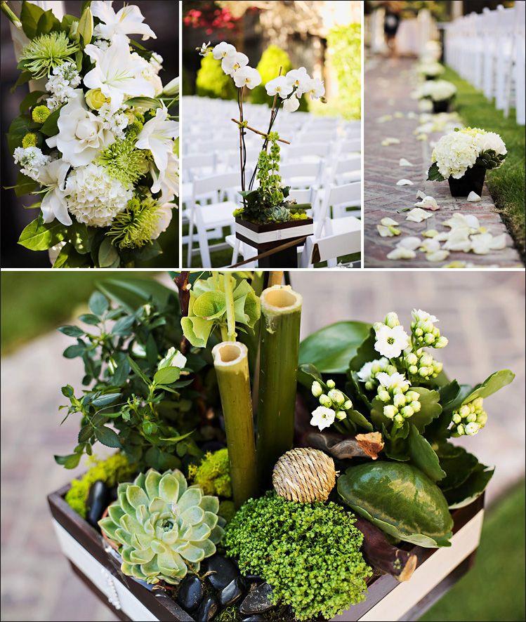 zen green Garden theme wedding, Zen wedding, Nature