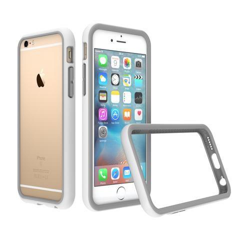 RhinoShield CrashGuard Bumper  for iPhone 6 / 6s            - white