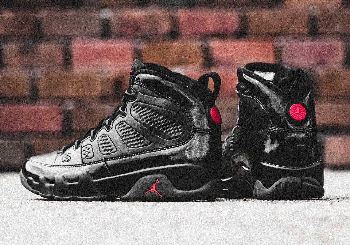 best website cbad9 71d09 Where To Buy The Air Jordan 9 PE In Black And Red | Air ...