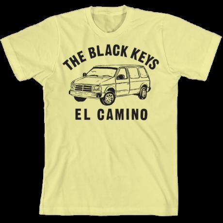 The Black Keys Yellow Bus Shirt Vans T Shirt T Shirt The Black Keys