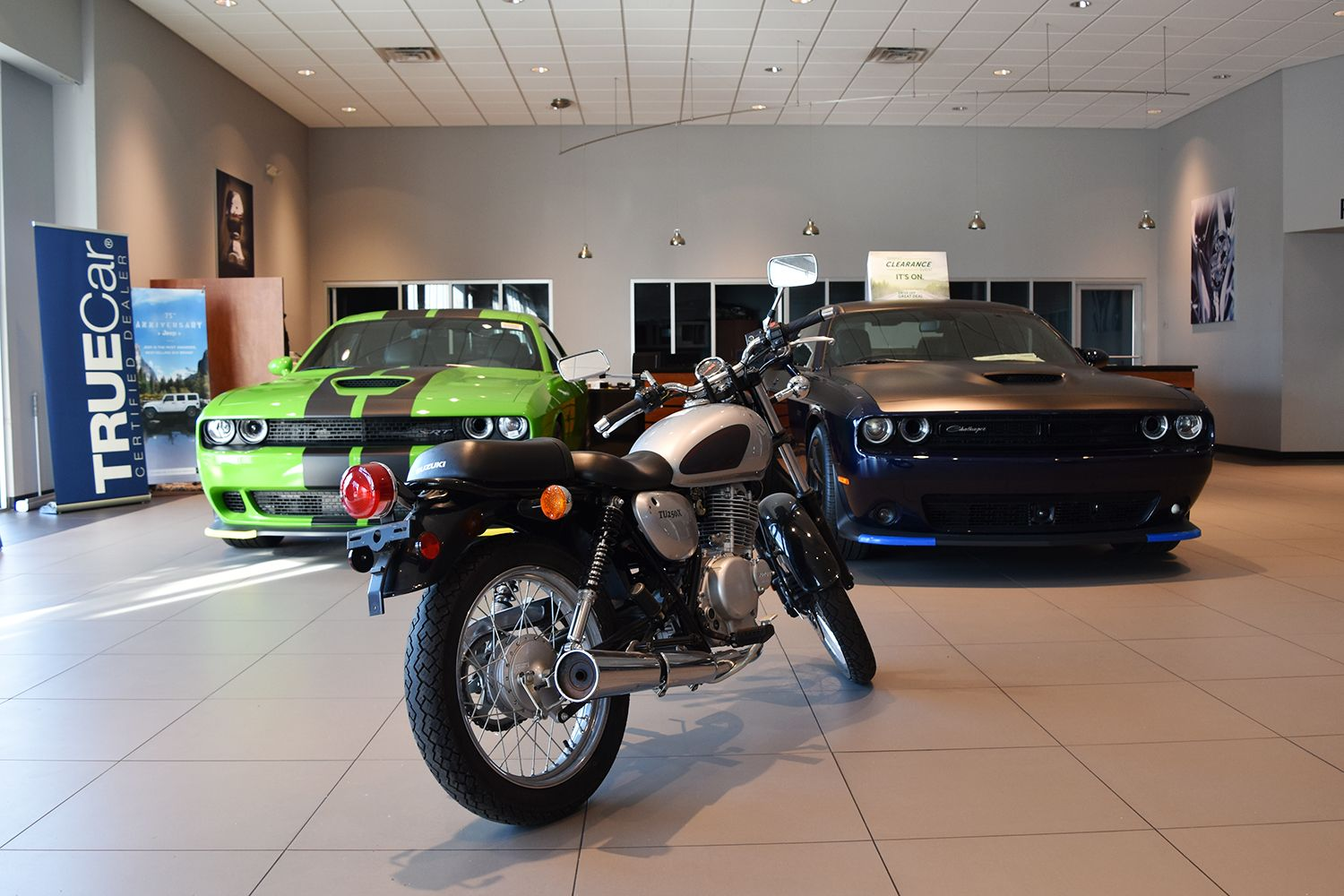 Our Showroom Is Ready For The Summer Chrysler Jeep Jeep Dodge