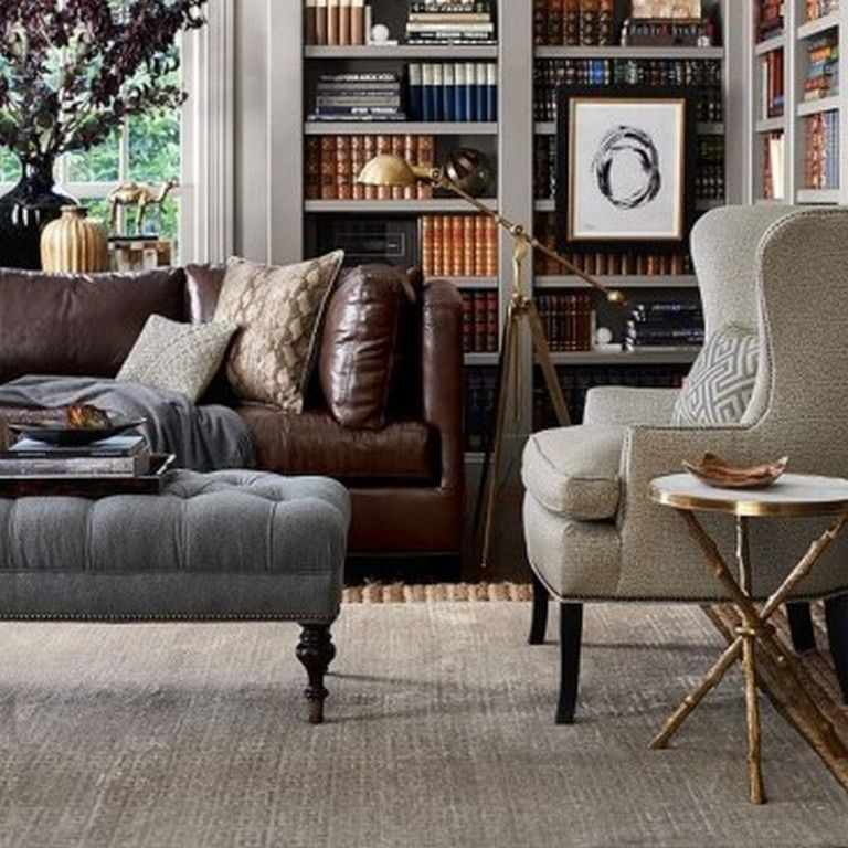 21 Staying Living Room Decor Ideas With Leather Sofa Livingroomideas L Brown Leather Sofa Living Room Leather Sofa Living Room Decor Brown Living Room Decor