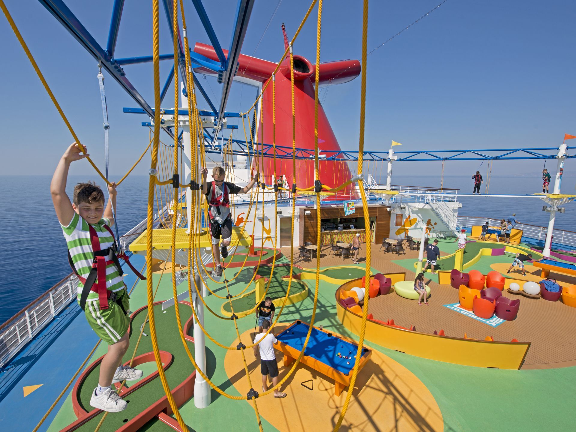 The Kids Will Never Miss Gym Class When They Can Spend Hours At - Best cruise ship for kids