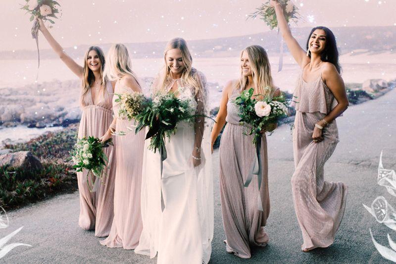 18 Non Traditional Bridesmaid Dresses For Unique Stylish S