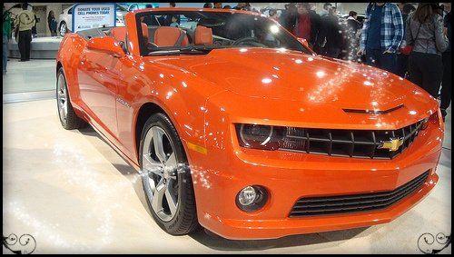 2014 Chevy Camaro. I want the orange one please.