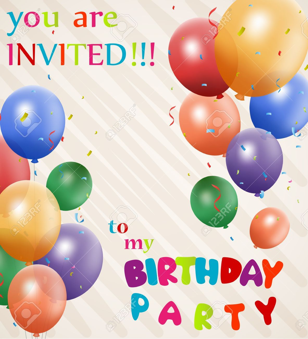Nice Birthday Invitation Background Designs 91 In Maker