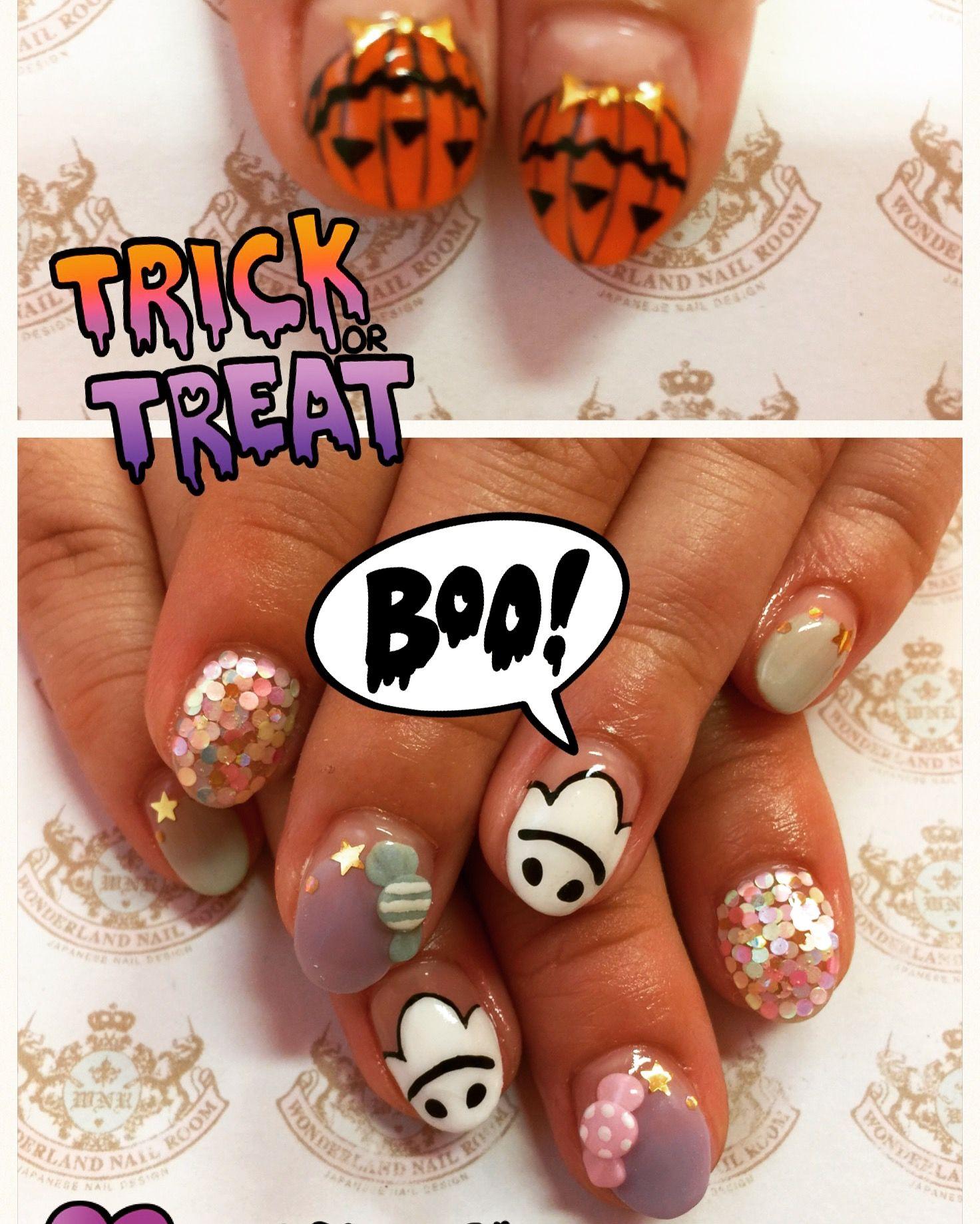 Pin de Cintia Sauw en Kawaii nail gel | Uñas, Halloween