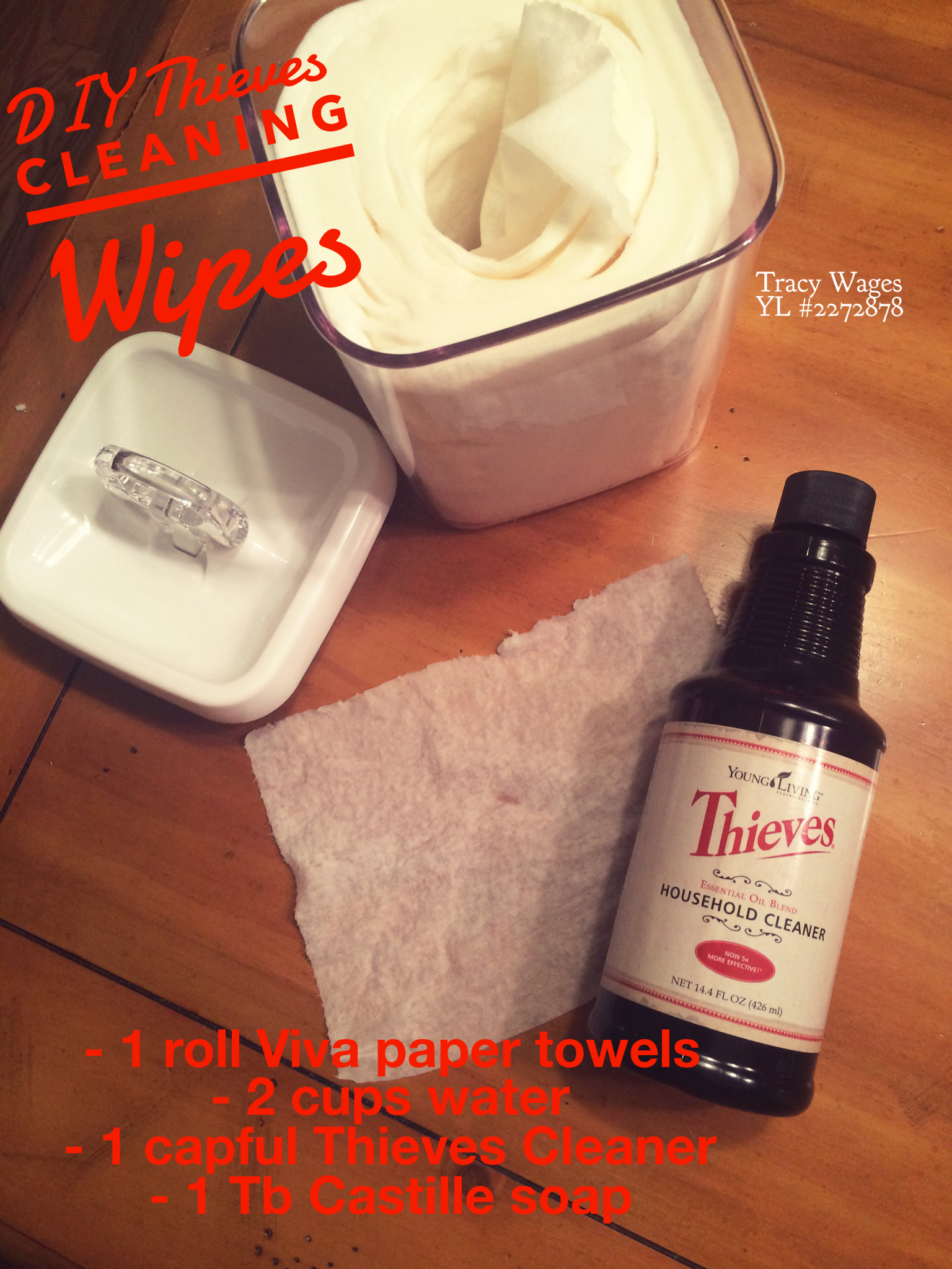 Diy Thieves Wipes Replacing My Clorox Wipes I Use To Clean Toys For Speech Therapy Thirty