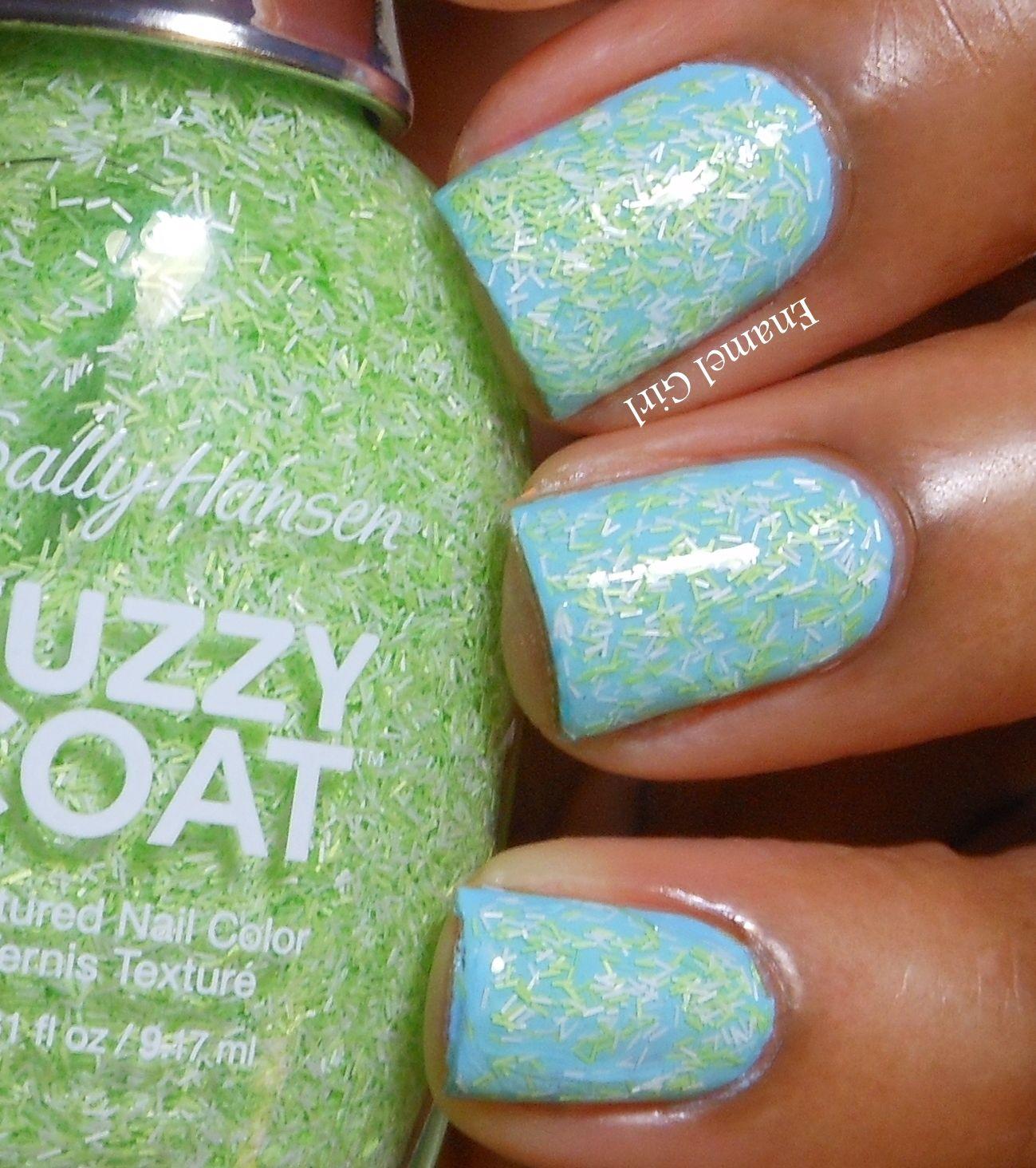 Enamel Girl: Sally Hansen Fuzzy Coat and Sugar Coat Summer 2013 ...