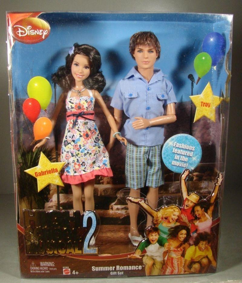 Disney High School Musical 2 Gabriella And Troy Dolls