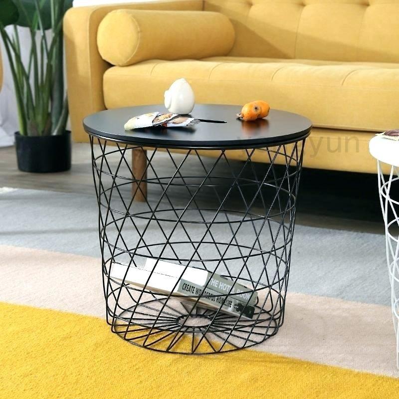 Adorable Round Basket Coffee Table Pics Unique Round Basket