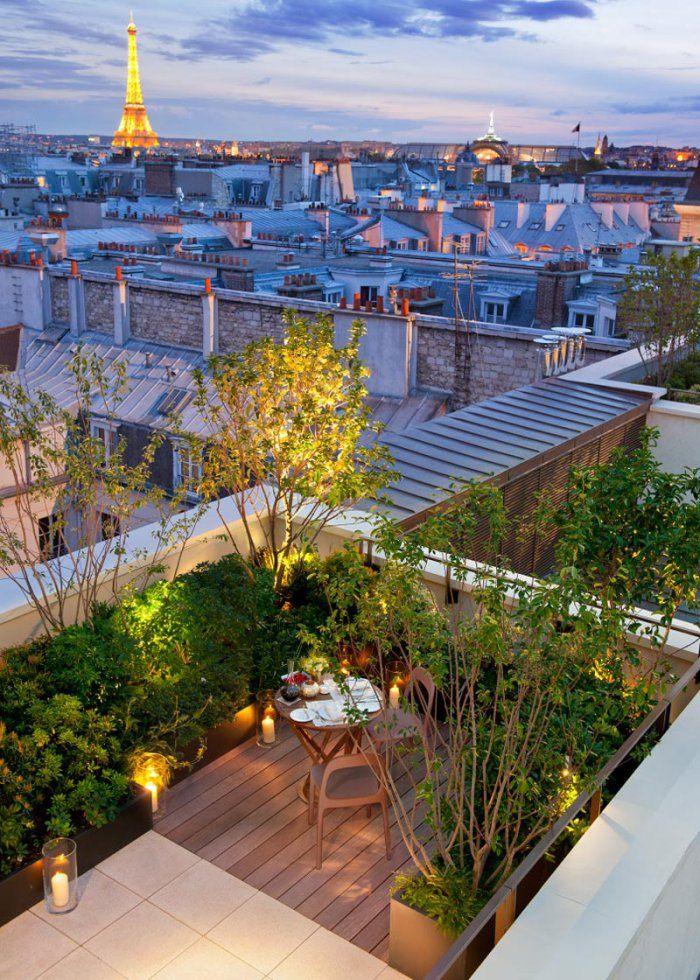 Toit Terrasse : Comment éclairer Son Rooftop ?