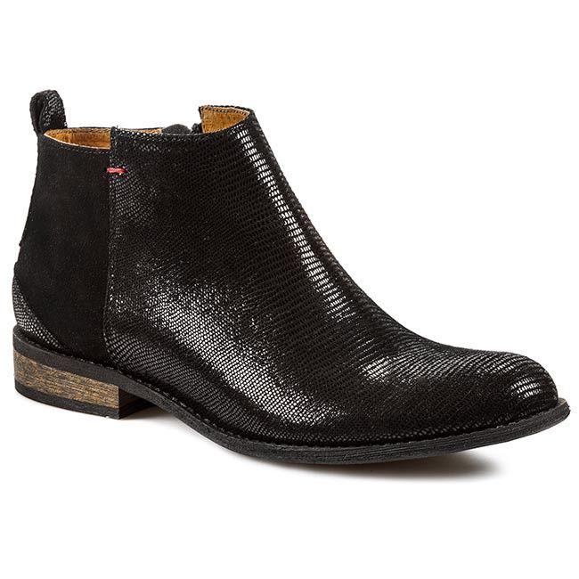 Botki Nessi 58704 Czarny Lizaro Czarny 19 Botki Kozaki I Inne Damskie Chelsea Boots Shoes Boots