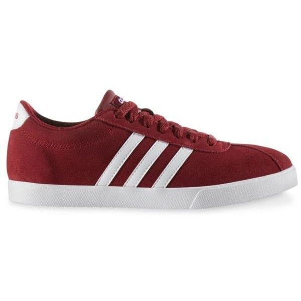 Adidas Courtset Womens Sneakers ($50) ❤ liked on Polyvore