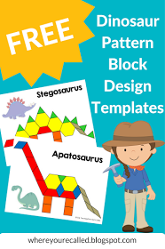 Free dinosaur pattern block templates dinosaurs pinterest free dinosaur pattern block templates spiritdancerdesigns Image collections