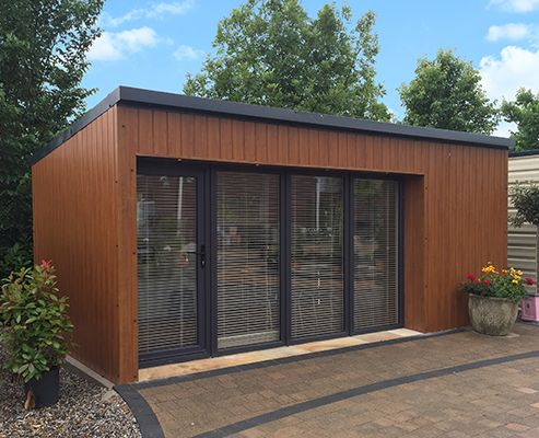 Steeltech Garden Sheds are one of the UK & Scotland's