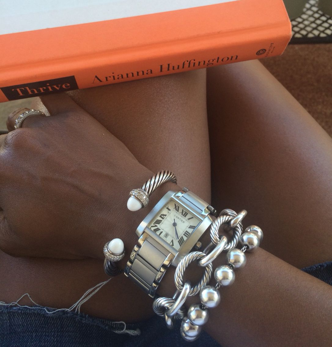 Bracelet vintage cuff cartier