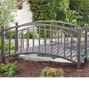 Superb Beautiful Metal Garden Bridge Brown/bronze Finish Artistic  Solutions,http://www