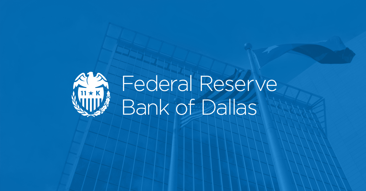 As Part Of The Nation S Central Bank The Dallas Fed Plays An