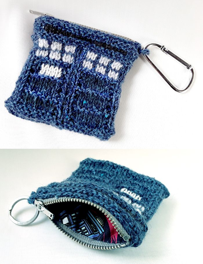 Doctor Who Knitting Patterns | Tardis, Knitting patterns and Coins