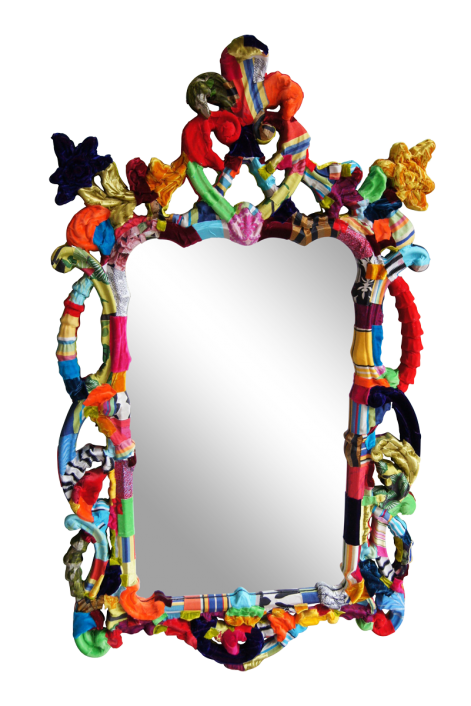 The Fleur De Lys Mirror by Squint Limited