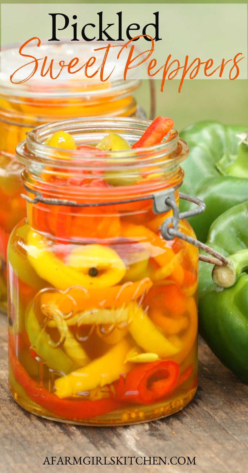 Learn How To Pickled Sweet Peppers Simple Ingredients Including Slices Of Bell Peppers Onions Ga In 2020 Stuffed Sweet Peppers Sweet Pepper Recipes Stuffed Peppers