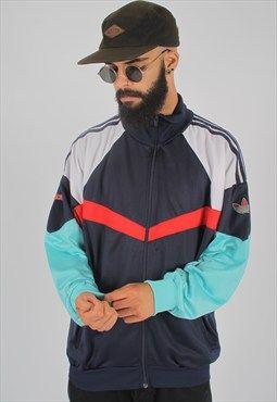 Vintage Adidas Track Jacket in 2019 | Adidas jacket mens