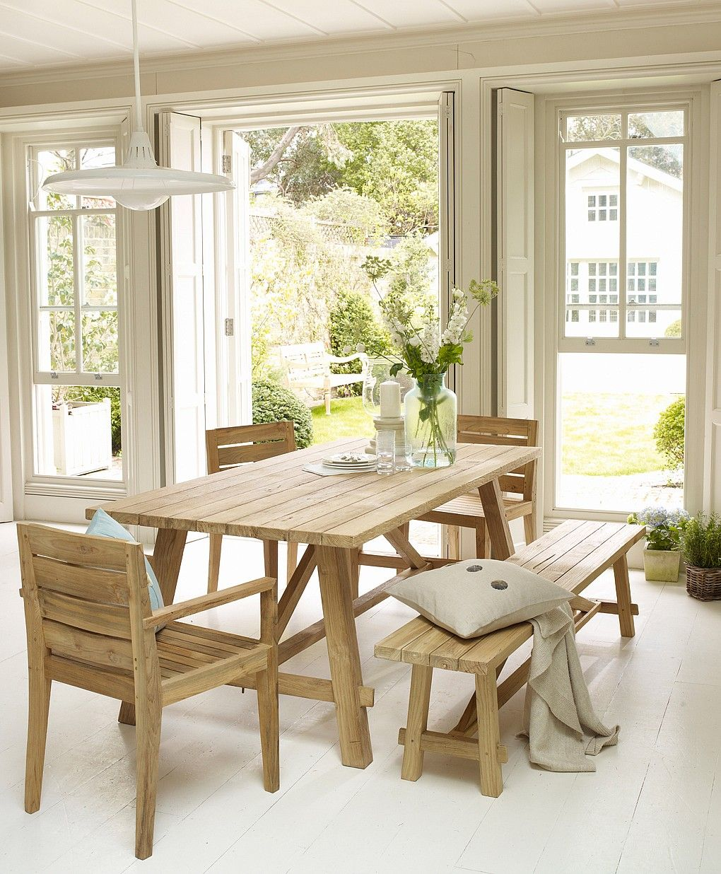 Jepara Outdoor Dining Table From Lombok Furniture
