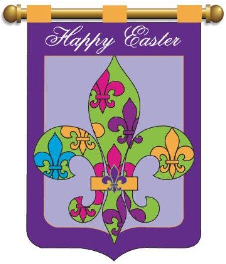 Saints Easter flag
