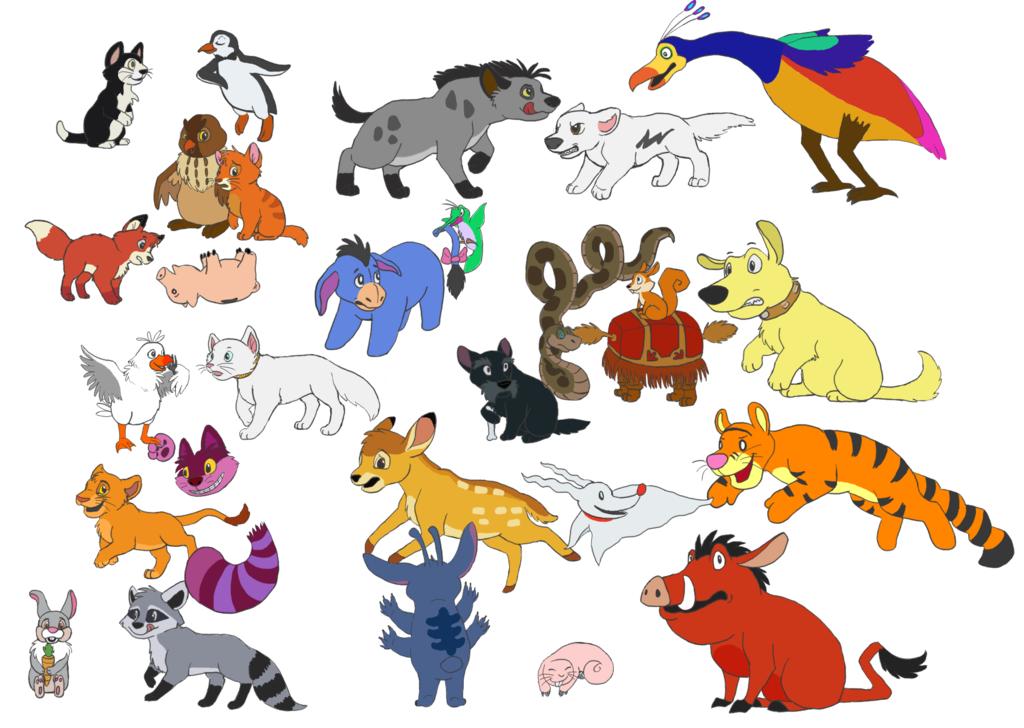 китайское картинки персонажи дисней животные разберёмся, почему именно