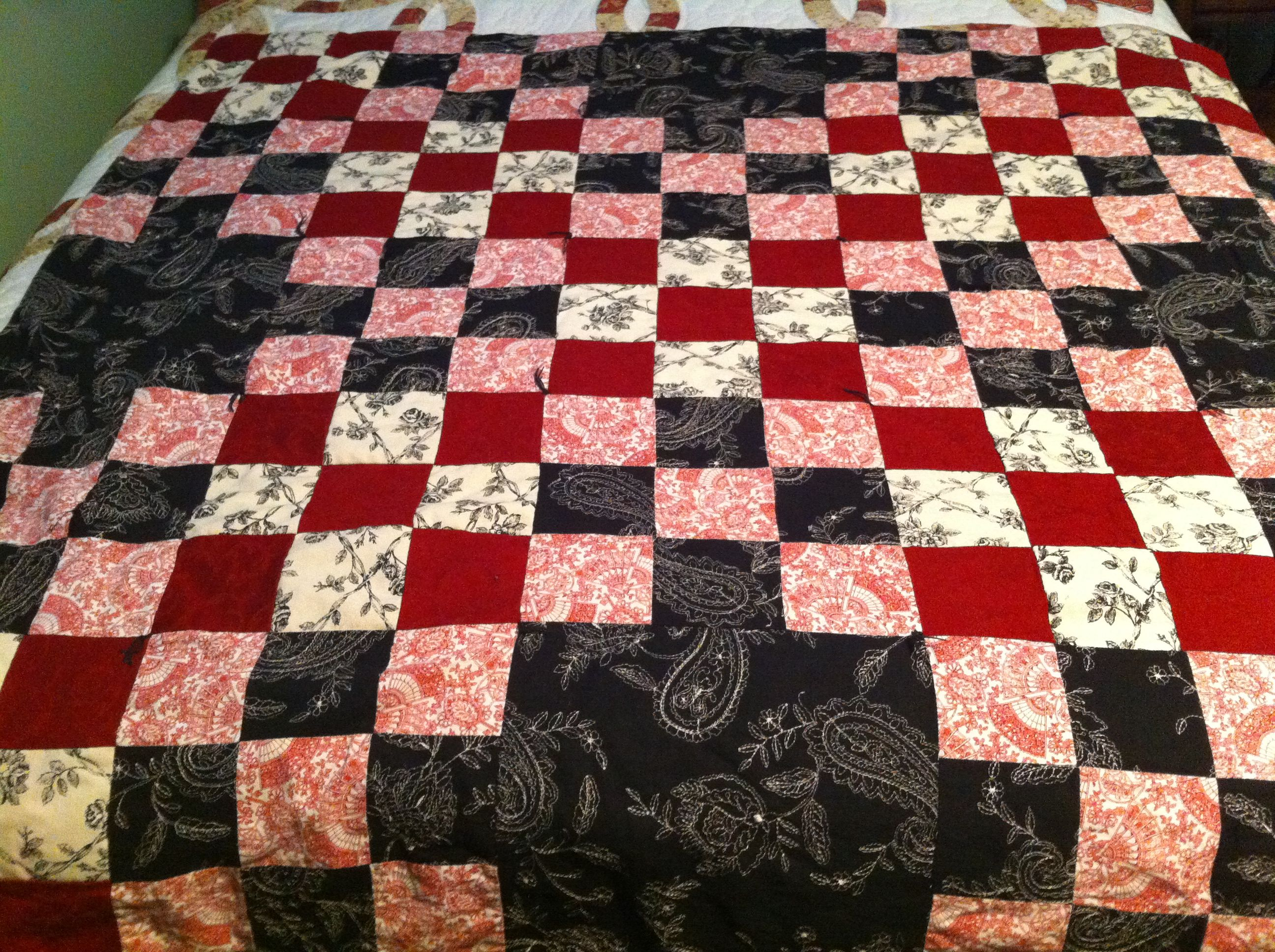 Lap Quilt for Mom