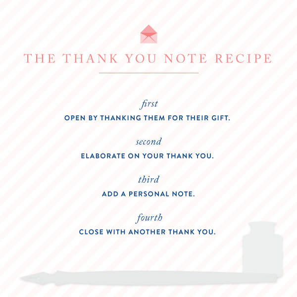 Southern Expert Writing Wedding Thank You Notes  Note Southern