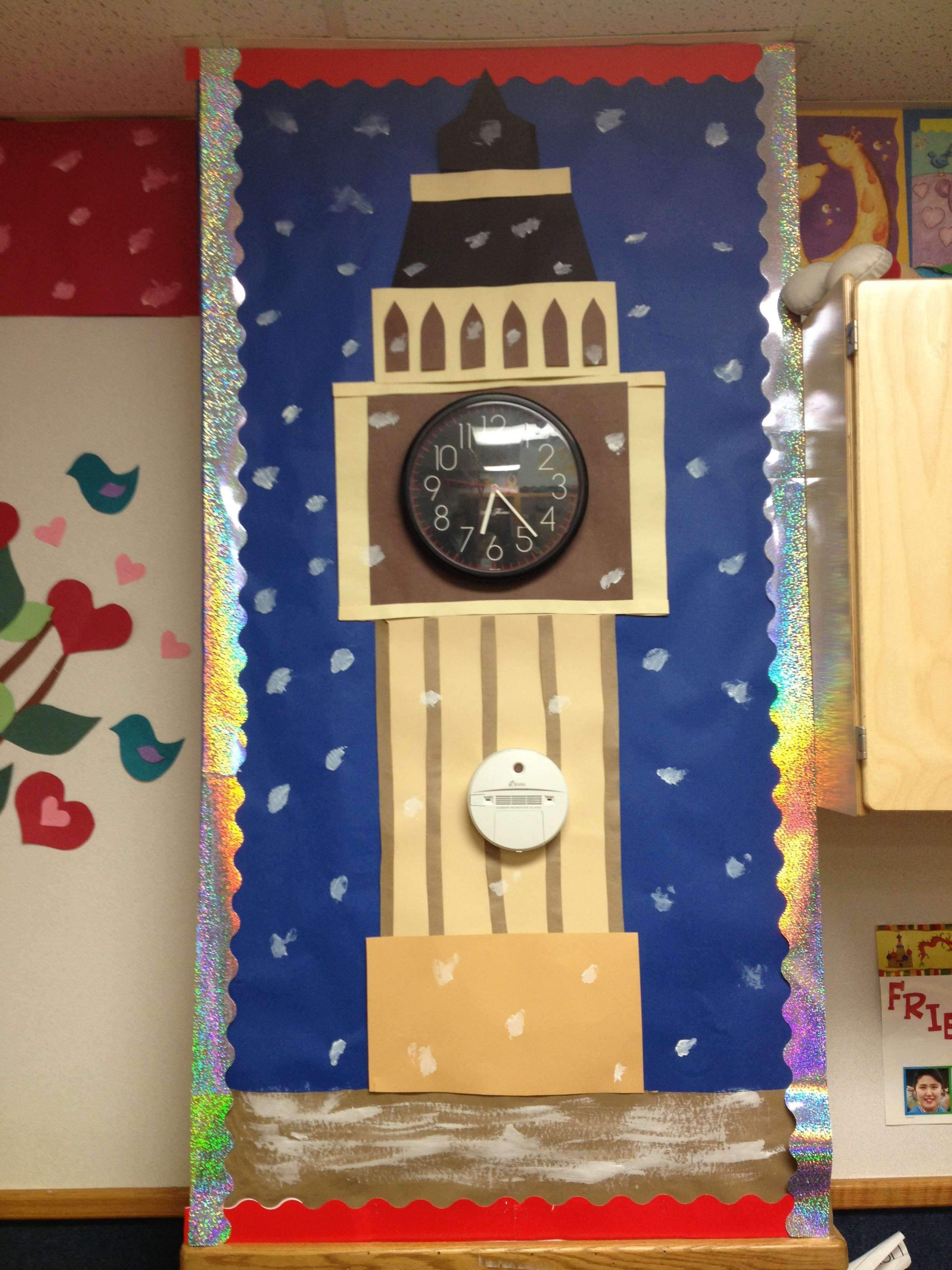 Our very own big ben clock ideas for the classroom arts for Decoration theme angleterre