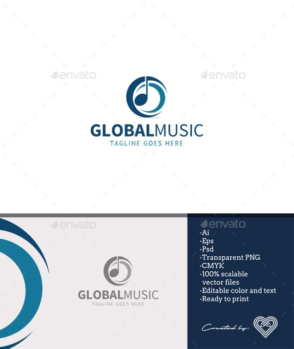 Global Music Logo Templates Symbol Logo And Logos