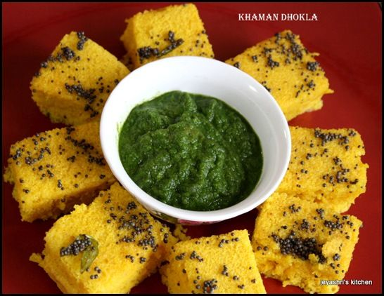 Khaman Dhokla Recipe Khaman Dhokla Green Chutney Chutney Recipes