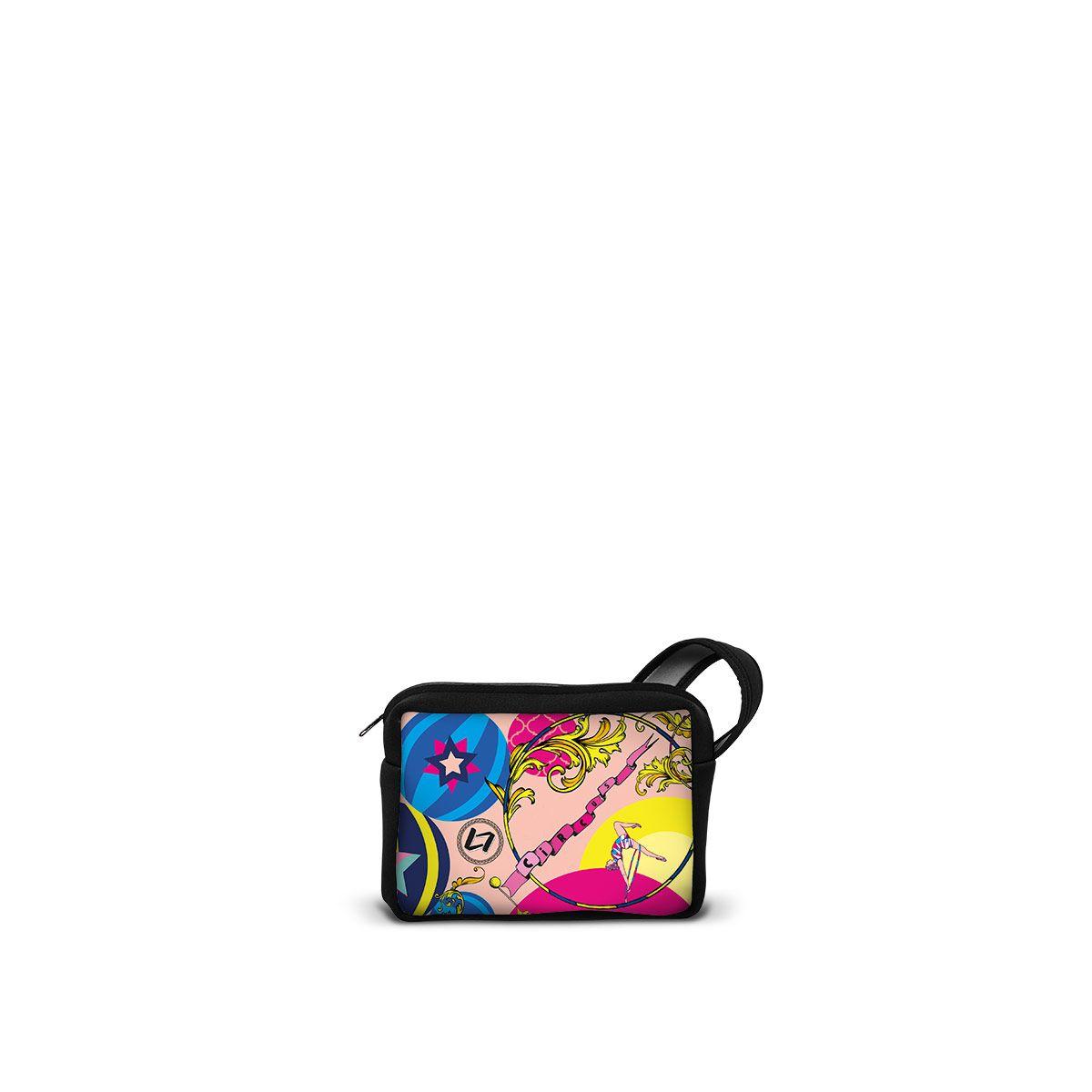 NEOPB-CI-C2 - Pochette in neoprene con zip, formato maxi. - una borsa realizzata da LOOMLOOM - made in Italy.