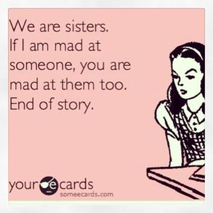 To my sisters @Kate Mazur Mazur Gonzalez @Emily Schoenfeld Schoenfeld gonzalez ;)